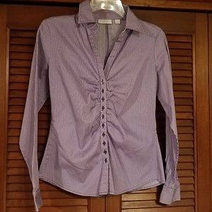 New York & Company button-up blouse